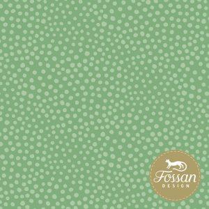 Overzicht duurzame stoffen Shop Stone Dots Mild Green
