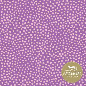 Overzicht duurzame stoffen Shop Stone Dots Purple pink