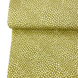 Overzicht duurzame stoffen Stone Dots Gold square 800x